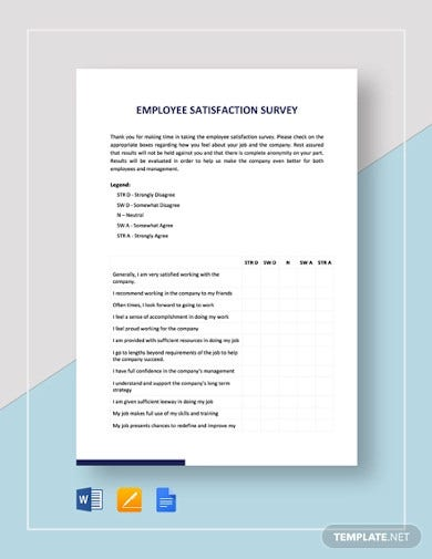 employee satisfaction survey template1