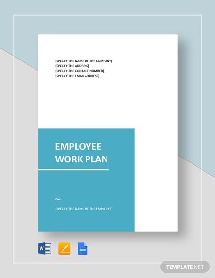employee work plan 1