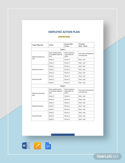 employee action plan2