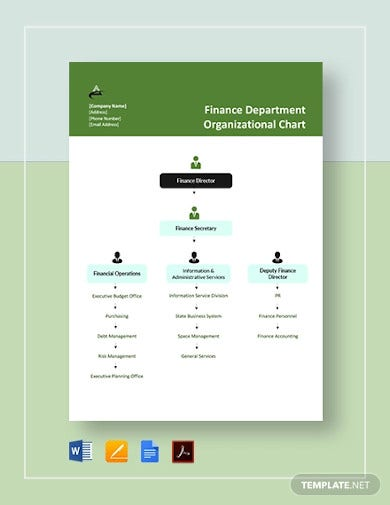 7 finance organizational chart templates google docs. Black Bedroom Furniture Sets. Home Design Ideas