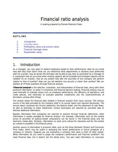 financial-ratio-analysis-template