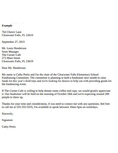 formal letter template1