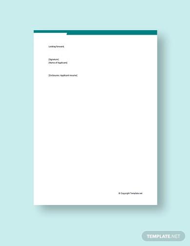 free cover letter for nursing job application