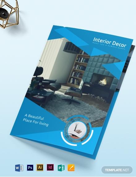 10 Interior Design Brochure Templates Illustrator