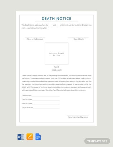 free-death-notice-template