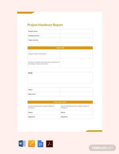 free final project handover report2
