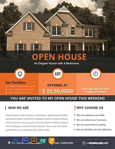 free home real estate flyer template 440x570 1
