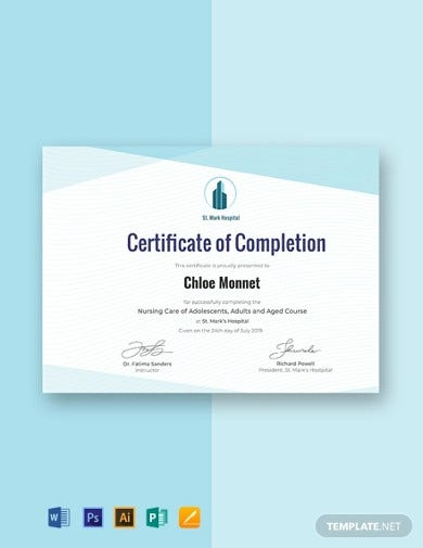 free-nurse-training-certificate-template