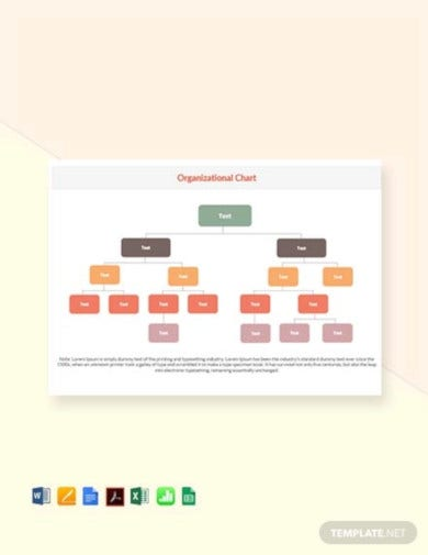 Organizational Chart Template 19 Free Word Excel Pdf Format Download Free Premium Templates