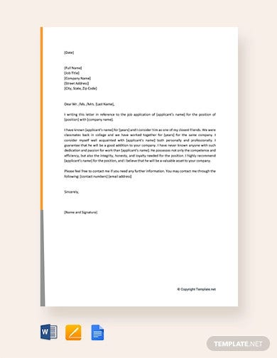 free reference letter for administrative officer1