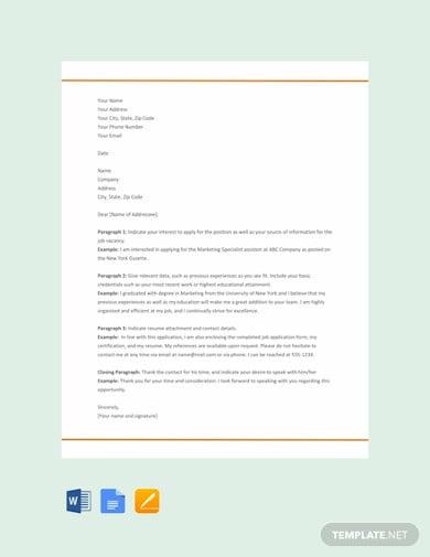 free resume cover letter format1
