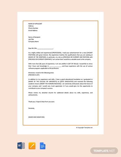 free sample motivation letter1