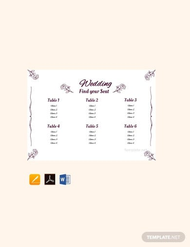 free-simple-wedding-seating-chart-template
