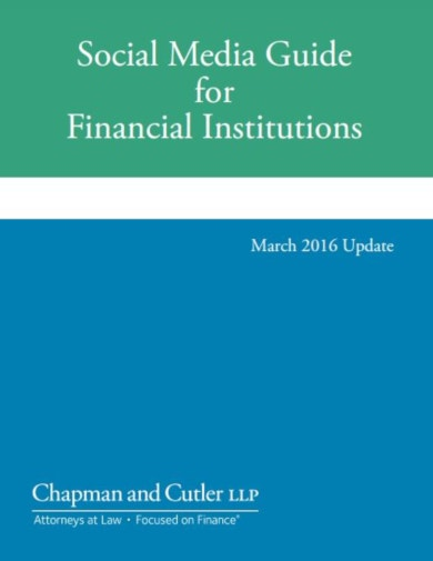 free social media guide for financial institutions