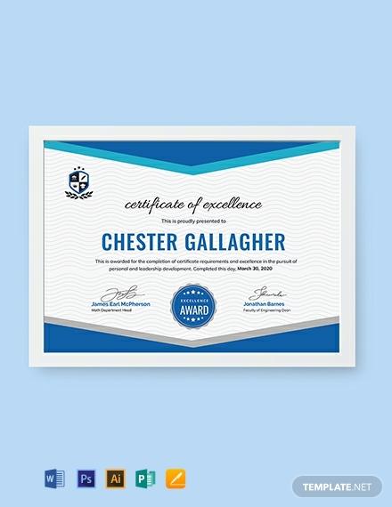 free student achievement certificate 440x570 1