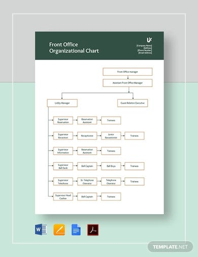 front-office-organizational-chart-template
