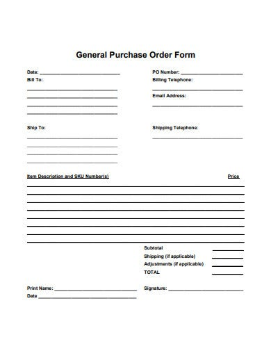 general-purchase-order-form