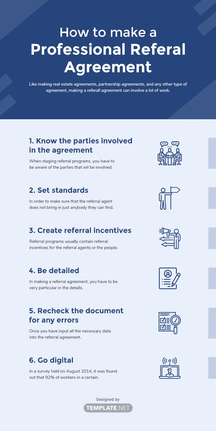 professional referral agreement template