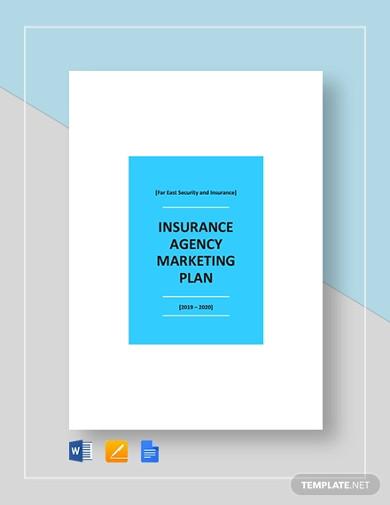 insurance agency marketing plan template1