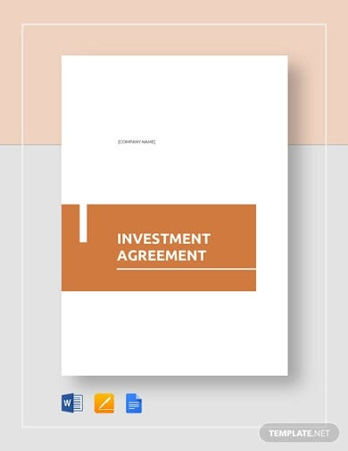 investment contract agreement template1