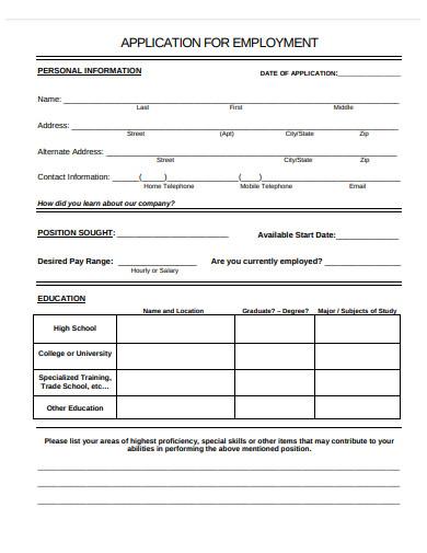 job application form1