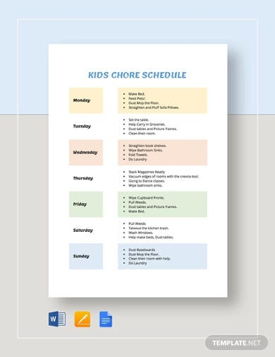 kids-chore-schedule-template