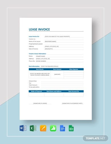 lease-invoice-template