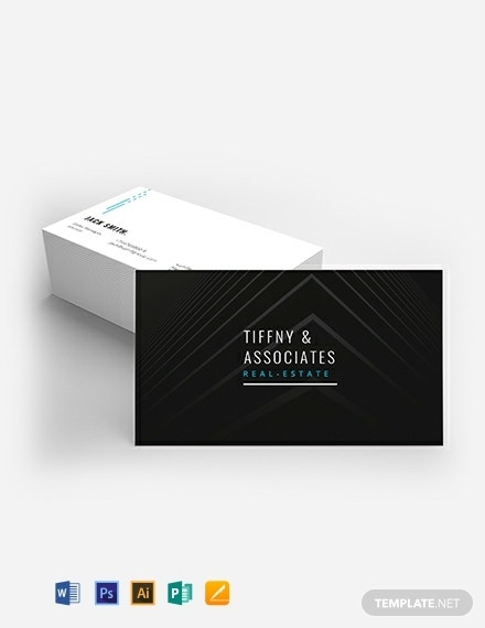 luxury real estate business card template 440x570 1