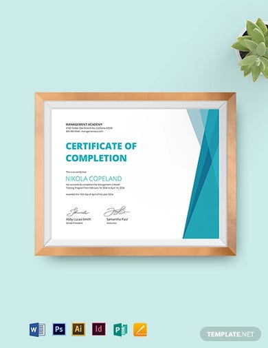 management-training-certificate-template