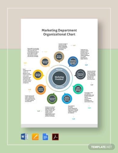 marketing-department-organizational-chart-template