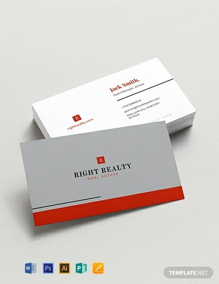 minimal real estate business card template 440x570 1