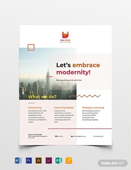 modern flyer template 440x570 1