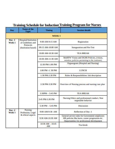 nurses training program