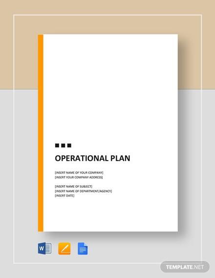 operational plan3