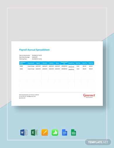 payroll accrual spreadsheet template1