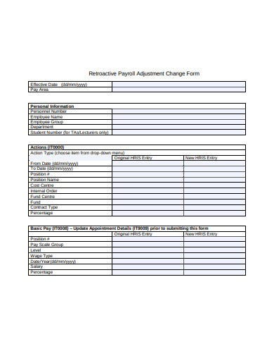 payroll-adjustment-change-form-example