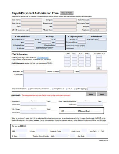 payroll-authorization-form-template