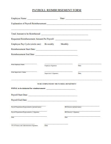 payroll-reimbursement-form-template