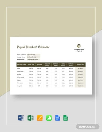 payroll timesheet calculator template1