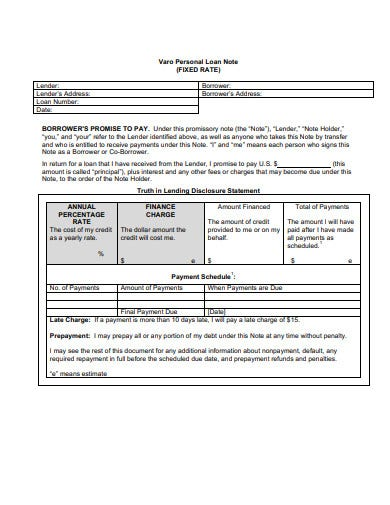 personal-loan-note-template