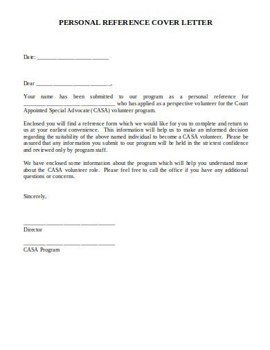 5+ Reference Letter Templates in Word   Google Docs   Pages ...