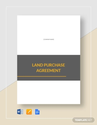 printable real estate purchase agreement template
