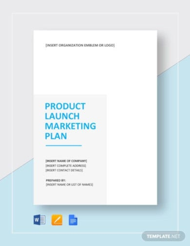 product launch marketing plan template1