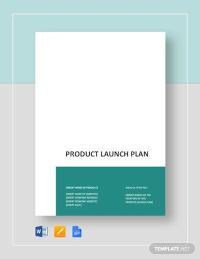product launch plan template3