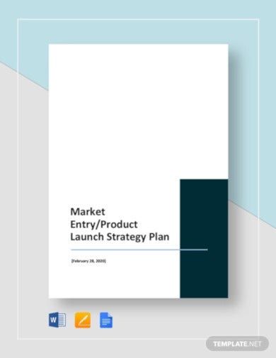 product launch strategy plan template