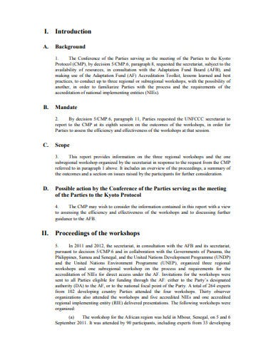 professional process report of introduction