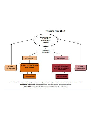 project-training-flow-chart-template