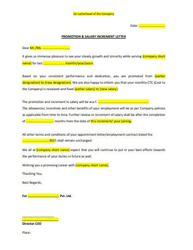 5 Increment Letter Templates Google Docs Word Pages