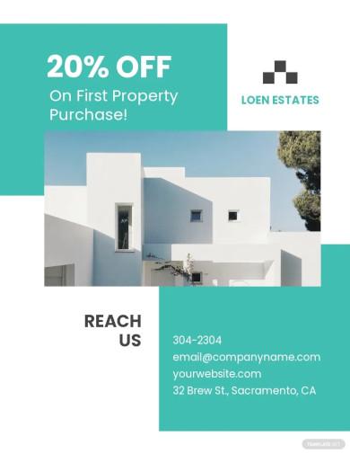 property broker flyer template