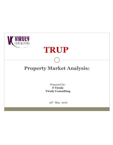 property market analysis